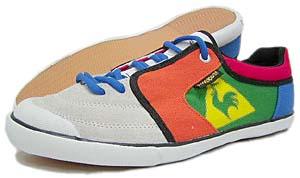hosu × le coq ganjivan gold line shoes canvas ホス × ルコック ガンジバン ゴールドライン シューズ キャンバス