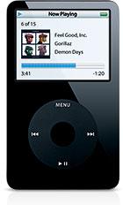 new ipod video black iPod ビデオ ブラック