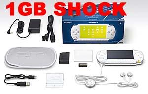 psp ギガパック PSP ギガパック 1GBメモリースティック PRO デュオなどを同梱