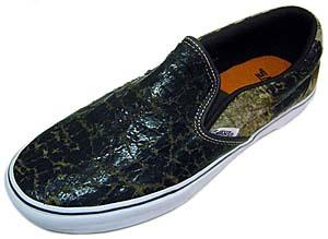 vans cls.slip-on lx vault [weathrd leather] (5011176) バンズ CLS.スリッポン LX VAULT 「ウエザードレザー」