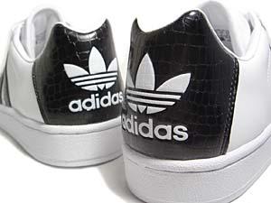 adidas ultrastar [crocodile] (114160) アディダス ウルトラスター 「クロコダイル」 (黒)