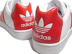 adidas ultrastar [crocodile] (114158) アディダス ウルトラスター 「クロコダイル」 (赤)