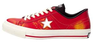 converse one star used ox (32345422) コンバース ワンスター ユーズド OX (レッド)