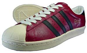 adidas superstar vintage (bordea / 463603) アディダス スーパースター ビンテージ (バーガンディー)