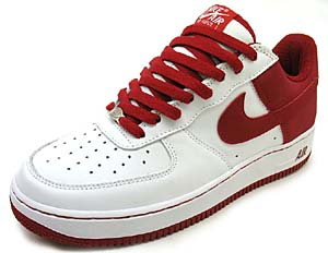 nike air force 1 low limited (white/red / 306353-167) ナイキ エアフォース1 ロー 店舗限定 (ホワイト/レッド)