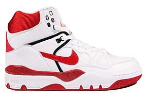 nike air force 3 hi (white/varsity red-black/312774-161) ナイキ エアフォース3 ハイ (ホワイト/レッド)