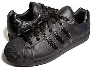 adidas wmns ultrastar [black crocodile](950980) アディダス ウルトラスター 「黒クロコダイル」