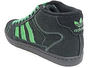 adidas super skate (black/green/352090) アディダス スーパースケート 海外限定(ヘンプ 黒/緑)