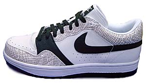 nike court force low [snake] (314191-101) ナイキ コートフォース ロー 「白蛇」