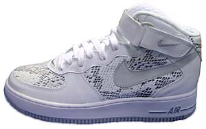 nike air force1 mid [snake] (310277-101) ナイキ エアフォース1 ミッド 「白蛇」