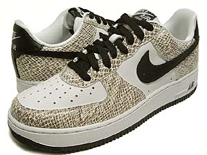 nike air force 1 low [snake pack] (314295-101) ナイキ エアフォース1 ロー 「白蛇」