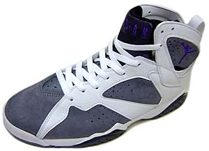 nike air jordan 7 retro (gray/purple/white/304775-151) ナイキ エアジョーダン7 レトロ (グレイ/ホワイト)