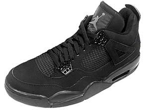 nike air jordan 4 retro [black cat] (308497-002) ナイキ エアジョーダン4 レトロ 「ブラックキャット」