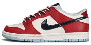 nike wmns dunk low [independence day] (309324-144) ナイキ ダンク ロー 「独立記念日 2006」