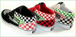 supreme × vans half cab [checks] カラーは3色展開