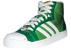 adidas × oki-ni tennis hi (green mesh) アディダス × オキニ テニス ハイ (グリーンメッシュ)