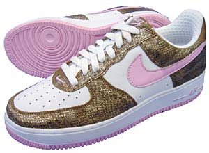 nike wmns air force 1 premium [gold snake/pink] (309439-262) ナイキ エアフォース1 プレミアム 「ゴールドスネーク」