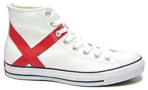 converse leather all star sp hi [w-cup/england] (1r605) コンバース レザー オールスター SP ハイ 「イングランド」
