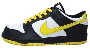 nike dunk low (black+yellow/309431-172) ナイキ ダンク ロー (ブラック/イエロー)
