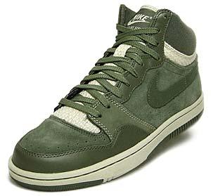 nike court force hi [hemp green] (311206-331) ナイキ コートフォース ハイ 「ヘンプ×グリーン」