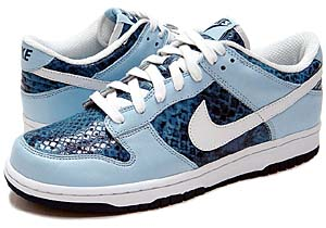 nike wmns dunk low [ice blue snake skin] ナイキ ダンク ロー 「アイスブルー/スネーク」