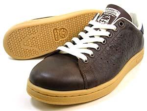 adidas stan smith 1 lux [choco] (562364) アディダス スタンスミス ラックス 「チョコ」