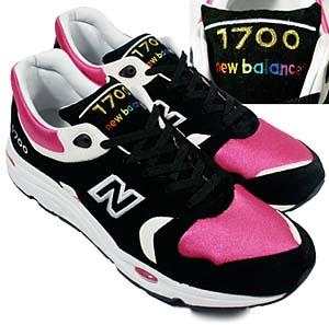 new balance × atmos m1700c (black/pink) ニューバランス × アトモス M1700C (ブラック/ ピンク)