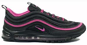 nike wmns air max 97 [black/pink] (605173-062) ナイキ エアマックス97 「ブラック/ピンク」