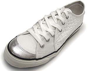 rhythm footwear sandwich (white/silver) リズムフット ウエアー サンドイッチ (ホワイト/シルバー)