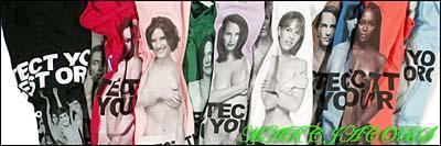 marc jacobs / naked celebrity t-shirt マーク・ジェイコブス / ネイキッド セレブリティ チャリティTシャツ