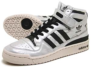 adidas forum hi [metallic silver] (012226) アディダス フォーラム ハイ 「メタリックシルバー」