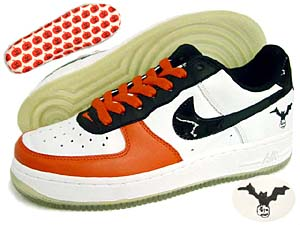 nike wmns air force 1 low [halloween 2006] (307109-103) ナイキ エアフォース1 ロー 「ハロウィン 2006」
