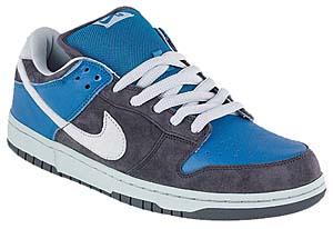 nike dunk low pro sb [gray/blue] (304292-032) ナイキ ダンク ロー プロ SB 「グレイ/ブルー」