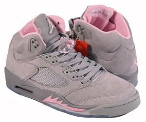 nike wmns air jordan 5 retro [gray/pink] (313551-061) ナイキ エアジョーダン5 レトロ 「グレイ/ピンク」