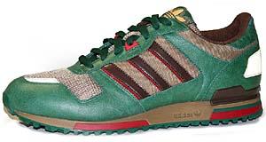 adidas zx700 [green/brown] (012337) アディダス ZX700 [グリーン/ブラウン]