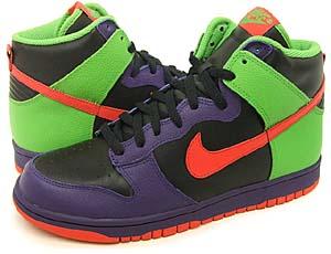 nike dunk high [black/orange/green] (309432-081) ナイキ ダンク ハイ 「ブラック/オレンジ/グリーン」