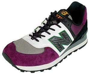 new balance m574m [gray/purple] ニューバランス M574M 「パープル/ホワイト」