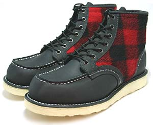 redwing lumberjack [woolrich] (rw-9001) レッドウィング ランバージャックブーツ 「ウールリッチ」