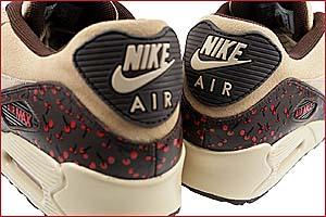 nike wmns air max 90 leather [louis vuitton monogram cherry] (314455-221) ナイキ エアマックス90 レザー 「ルイ・ヴィトン モノグラム チェリー」