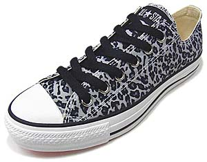 converse all star lpd ox black [leopard] コンバース オールスター LPD OX 「ヒョウ」