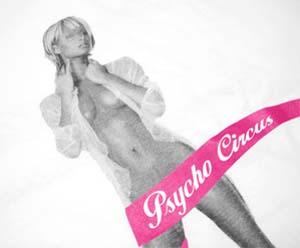 psycho circus f.f.n tee [paris hilton / semi-nude] サイコサーカス F.F.N Tシャツ 「パリス・ヒルトン セミヌード」