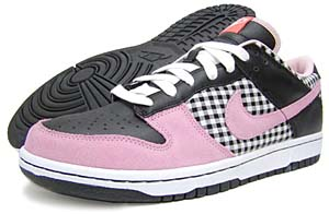 nike wmns dunk low [white/pink/black] (308608-161) ナイキ ダンク ロー 「ホワイト/ピンク/ブラック」