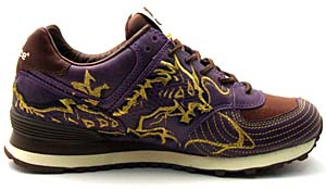 new balance m574 [hungry dragon] ニューバランス M574 「ハングリードラゴン」「Blackberry Purple」