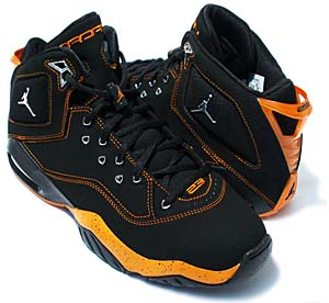 nike jordan b'loyal [black/orange] (315317-004) ナイキ ジョーダン Bロイヤル 「ブラック/オレンジ」