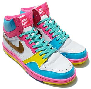 nike wmns court force high [easter bunny] (316117-171) ナイキ コートフォース ハイ 「イースター バニー」