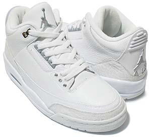 nike air jordan 3 retro [pure $ / white] (136064-103) ナイキ エアジョーダン3 レトロ 「ピュア$ / ホワイト」