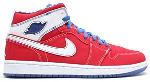 nike air jordan 1 retro l'style [red/royal/white] (36085-641) ナイキ エアジョーダン1 レトロ LS 「レッド/ロイヤル/ホワイト」