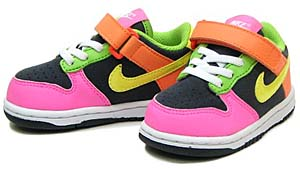 nike little dunk low td [crazy color] (311535-071) ナイキ リトル ダンク ロー TD 「クレージーカラー」