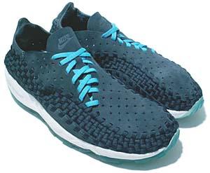nike air footscape woven [navy/white/ice blue] (315795-441) ナイキ エア フットスケープウーブン 「ネイビー/アイスブルー」