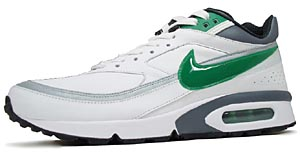 nike air classic bw [white/pine green-flint grey] (316703-131) ナイキ エアクラシック BW 「白/緑」